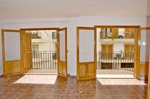 Unfurnished apartment for long term rental Javea Port