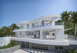 Modern new build villa for sale in Javea