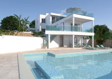 Вилла в Аликанте - Коста Бланка, площадь 450 м², 4 спальни