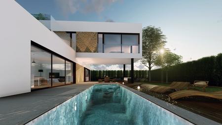 New development of houses close to Tarragona