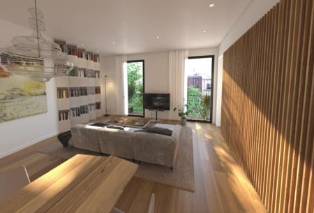 New spacious apartments prestige street of Barcelona