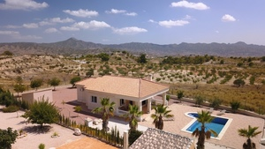 3 bedroom Villa for sale in Abanilla