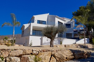 New build villa finished in Javea