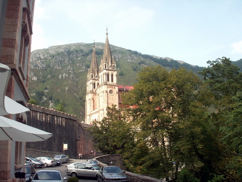 Church in Covadonga
