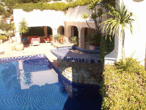 Moraira villa for sale spanish property sales - Villa el portet ...