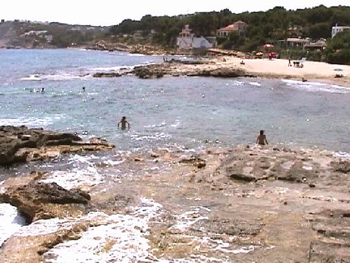 Moraira Platgautes Beach