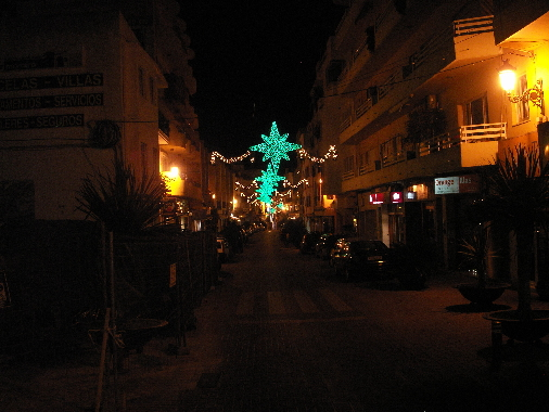 Moraira Christmas Lights