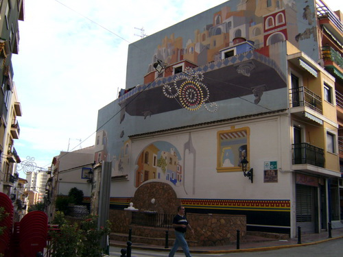 Facade of building nr Carrer Major