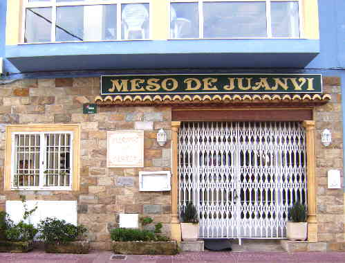 Juan VI Restaurant in Benitachell