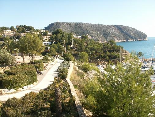 Moraira Gardens along El Portet Road