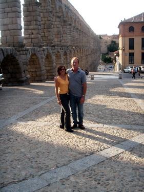 Ant & Sal in Segovia