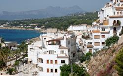 Villas overlooking the sea