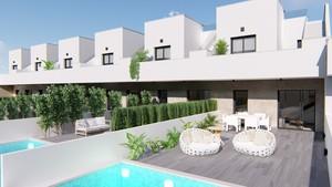 3 bedroom Rijtjes Huis te koop in Pilar de la Horadada