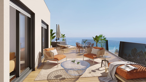 3  BEDROOM PENTHOUSES FOR SALE IN VILLAJOYOSA