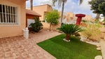 South facing traditional style bungalow with private solarium in El Galan