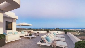 3 bedroom Penthouse for sale in Campo Mijas
