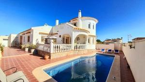 Exceptionally spacious detached villa in Los Dolses