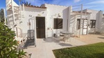 Traditional style sunny bungalow with private solarium in Villamartin