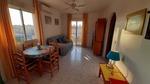 Sunny top floor apartment, La Rosaleda, Torrevieja with sea views