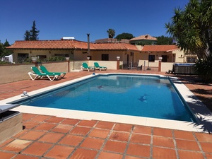 Beautiful four bedroom villa with large plot and separate guest house