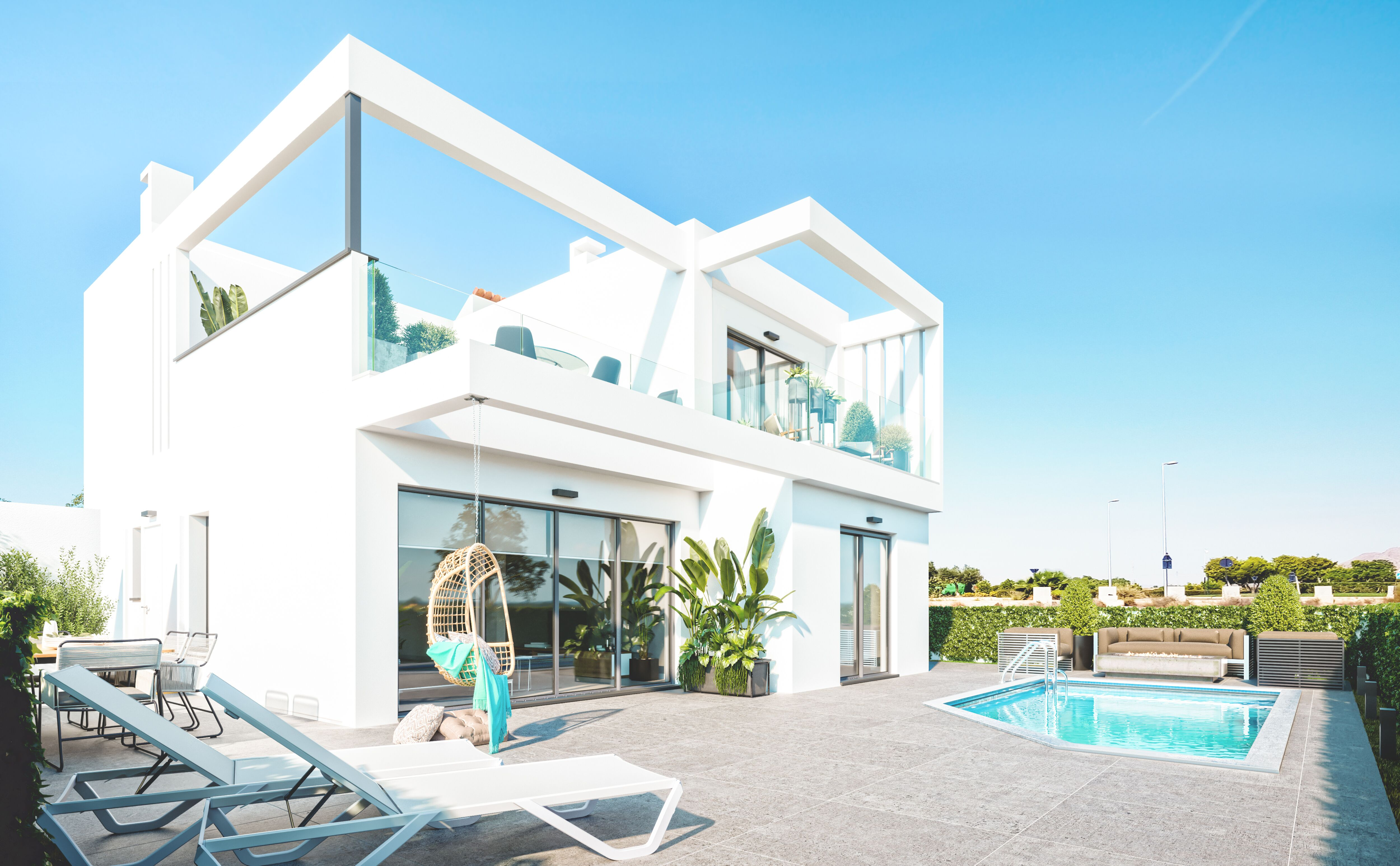 4 Bedroom Villa in Los Alcazares