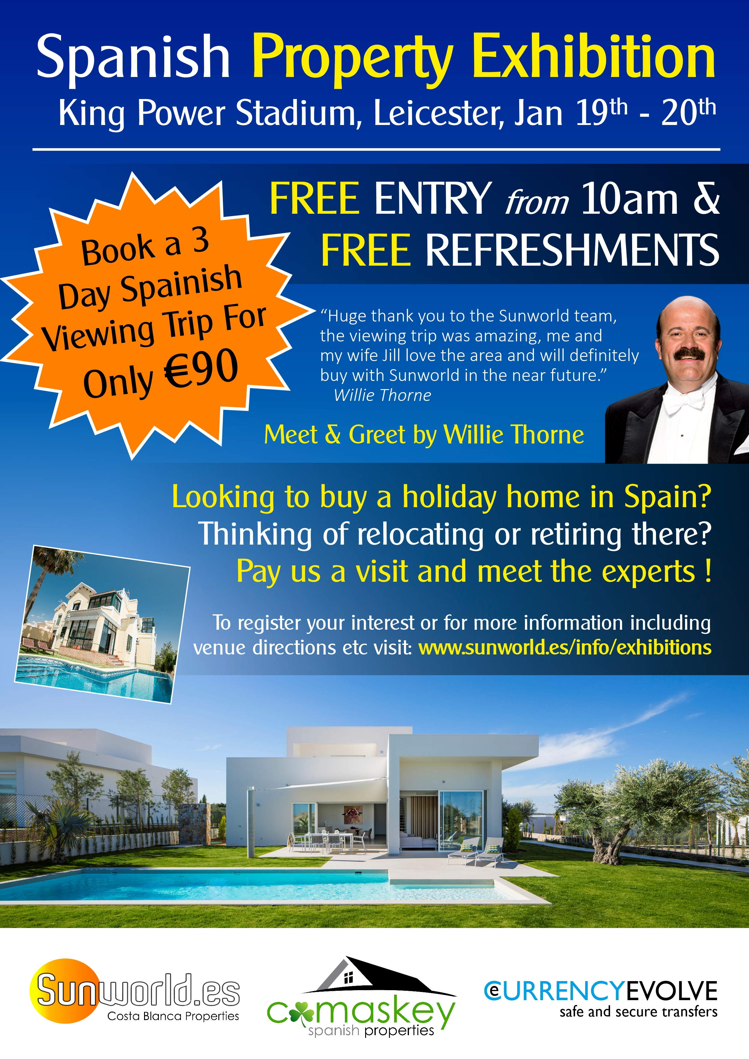 Leicester Spanish Property Exhibition