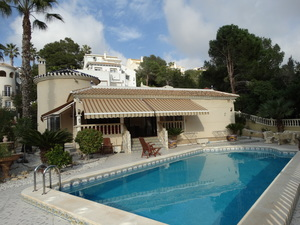 3 bed 3 bath detached villa in las Ramblas