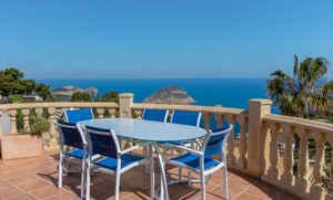 Sea view villa for sale in Javea