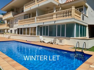 Winter let apartment Javea.