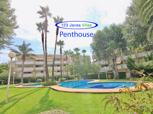 Penthouse apartment for sale in Javea Arenal