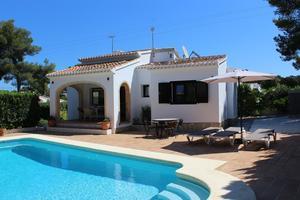 Furnished villa to let Javea Costa Nova