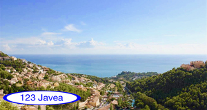 Building plot with sea views for sale in Altea