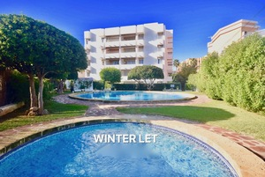 Javea Beach ground floor Apartment to let for winter period