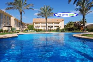 Modern apartment for sale in Javea Beach