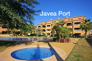Ground floor apartments for sale in Javea Port