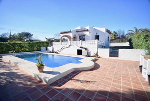 Long term rental Javea villa.