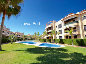 Luxury Ground floor apartment for sale in Javea Port
