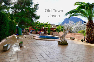 Javea Old town villa for sale