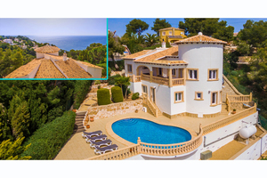 Modern villa for sale in Javea with sea views