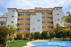 Winter let Javea apartment