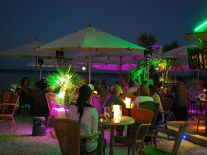Javea beach bars
