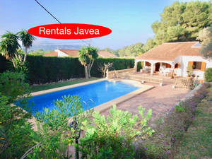 Long term rental villa in Javea