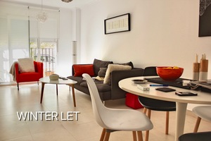 Apartment for winter let in Javea Old Town