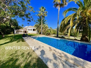 South facing winter rental Javea.