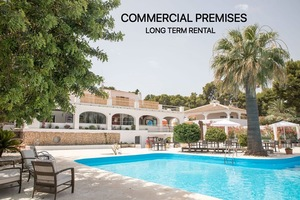 Large commercial premises to let Javea.