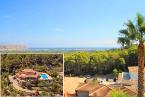 Luxury villa for sale in Javea with sea view