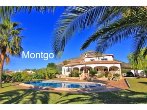 4 Bedroom villa for sale Montgo Javea