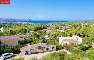Plot for sale in Cap Matri Javea with sea view