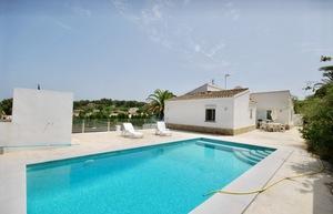 Modern villa for long term rental Javea