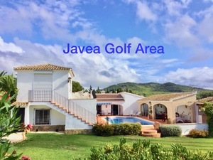 Villa for sale in Javea Golf Course area